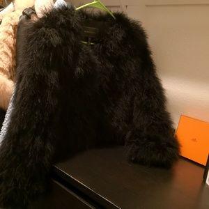 BCBG jacket (Ostrich fur)